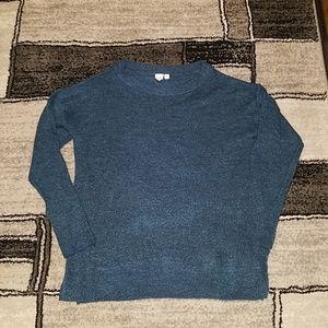 NWT Gap Teal Sweater, Size Medium